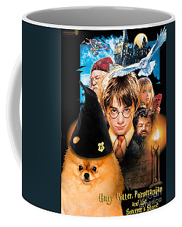 Pomeranian Art Canvas Print - Harry Potter Movie Poster Coffee Mug
