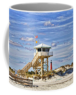 Ponce Inlet Scenic Coffee Mug by Alice Gipson