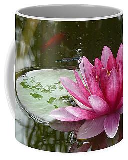 Pond Magic Coffee Mug by Evelyn Tambour