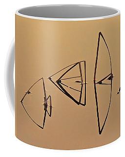 Pond Reeds Sunrise 1 Coffee Mug