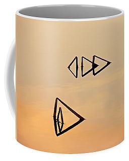 Pond Reeds Sunrise 2 Coffee Mug