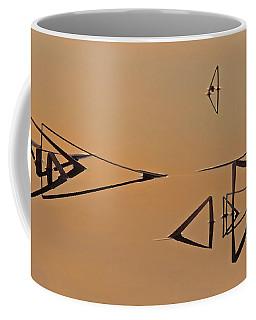 Pond Reeds Sunrise 3 Coffee Mug