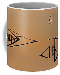 Pond Reeds Sunrise 3 Coffee Mug