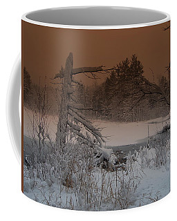 Coffee Mug featuring the photograph Pond Scape by Mim White