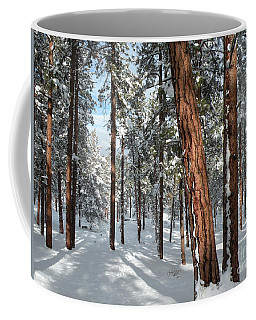 Ponderosa Winter Coffee Mug