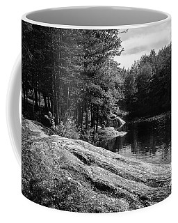 Coffee Mug featuring the photograph Pondside by Mark Myhaver