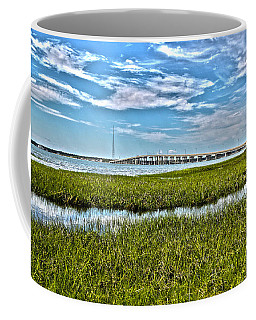 Ponquogue Bridge Coffee Mug