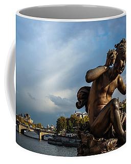 Coffee Mug featuring the photograph Pont Alexandre IIi by Glenn DiPaola
