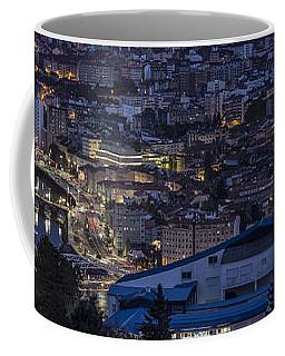 Coffee Mug featuring the photograph Pontevedra Panorama From A Caeira by Pablo Avanzini