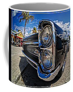 Pontiac Gto Convertible Ft Myers Beach Florida Coffee Mug