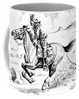 Pony Express Rider Coffee Mug