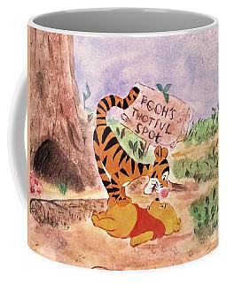 Pooh Bear Got Bounced Coffee Mug