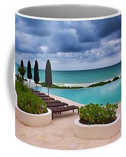 Coffee Mug featuring the photograph Pool At Rosewood Mayakoba by Teresa Zieba