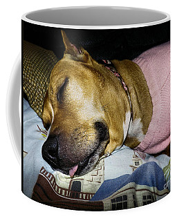 Coffee Mug featuring the photograph Pooped Pup by Robyn King