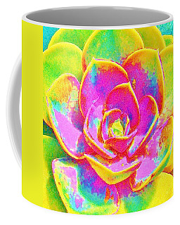 Pop Art Succulent Coffee Mug