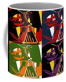 Pop Art Vader Coffee Mug