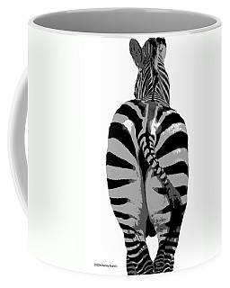 Coffee Mug featuring the photograph Pop Art Zebra by Kenny Francis