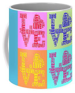 Pop Love Collage Coffee Mug