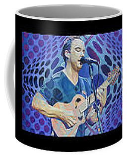 Coffee Mug featuring the drawing Pop-op Full Band by Joshua Morton
