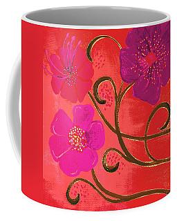 Pop Spring Purple Flowers Coffee Mug