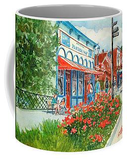 Popcorn Shop In Summer/chagrin Falls Coffee Mug