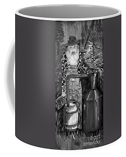 Popcorn Sutton - Black And White - Legendary Coffee Mug