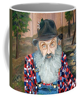 Popcorn Sutton - Moonshine Legend - Landscape View Coffee Mug