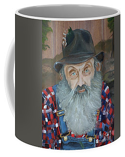 Popcorn Sutton - Moonshiner - Portrait Coffee Mug