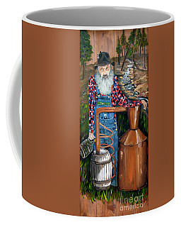 Popcorn Sutton - Moonshiner - Redneck Coffee Mug