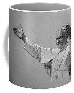 Pastel Portrait Drawings Coffee Mugs