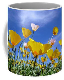Poppies And Blue Arizona Sky Coffee Mug