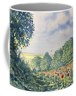 Poppies A'plenty Coffee Mug