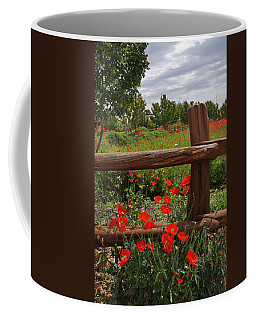 Poppies At The Farm Coffee Mug