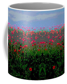 Poppies Field Coffee Mug