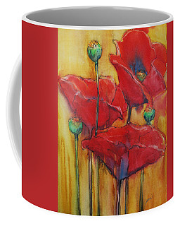 Poppies IIi Coffee Mug by Jani Freimann