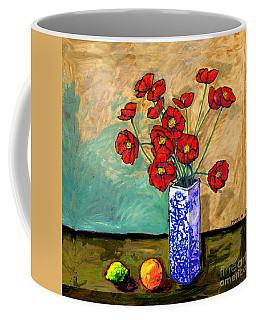 Poppies In A Vase Coffee Mug