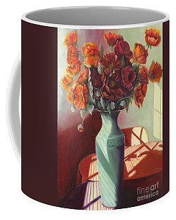 Poppies Coffee Mug by Marlene Book