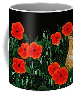 Poppy Cat Coffee Mug