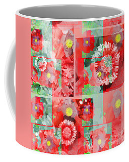 Poppy Collage Coffee Mug