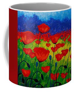 Poppy Corner II Coffee Mug