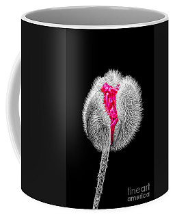 Poppy Emerging Coffee Mug by Lynn Bolt
