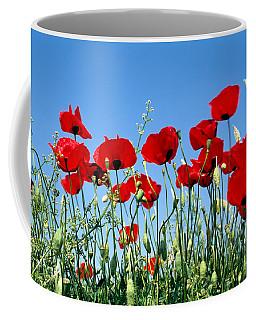 Poppy Flowers Coffee Mug
