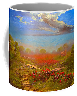 Poppy Morning Coffee Mug