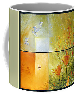 Poppy Pollination Coffee Mug