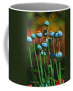 Poppy Seed Pods Coffee Mug