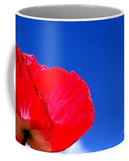 Poppy Sky Coffee Mug by Stephen Melia