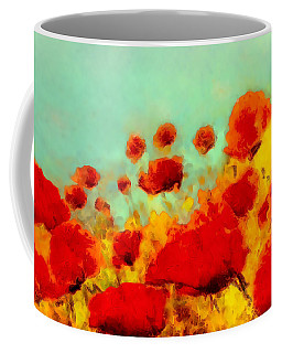 Poppy Time Coffee Mug