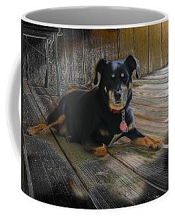 Porch Patrol Coffee Mug