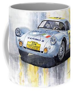 Porsche 550 Coupe 154 Carrera Panamericana 1953 Coffee Mug