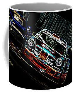Porsche 911 Racing Coffee Mug